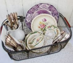 dishes....I just  love dishes.....and cutlery