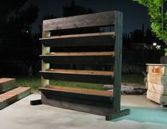 Reclaimed wood planter boxes open space office dividers - Sacramento craigslist farm and garden ...