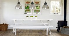Summertime Style: Picnic Tables...Indoors   Apartment Therapy