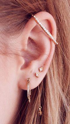 Bar ear cuff