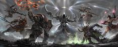 DiabloIII Reaper of Souls Hero nightclub by ro733 on deviantART