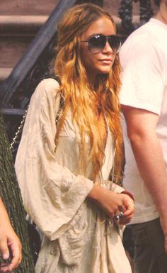 mary-kate olsen/ boho look