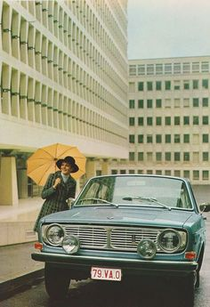 """thatyellowvolvoguy: """" floopyswa6: """" 1969 Volvo 144 Grand Luxe """" Such a finely-aged design. Love those fog lights too! """""""