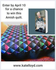 Enter to win this fabulous Amish quilt on my Website!