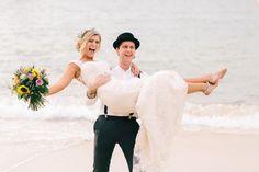 Spaß Boho Strand Hochzeit In Australien - Australien, Boho, Hochzeit, Spaß, Strand - Mode Kreativ - http://modekreativ.com/2016/11/29/spas-boho-strand-hochzeit-in-australien.html
