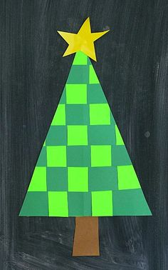 If you're looking for unique Christmas crafts for kids, you'll love our woven paper Christmas tree craft! This simple Christmas tree craft is a great way to introduce weaving paper to children. The contrasting colors really stand out, and kids can even embellish the trees when they're finished!