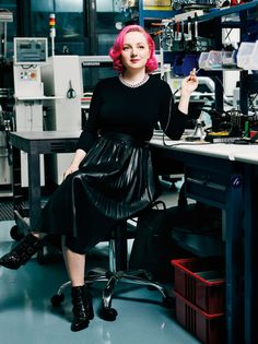 35 Women Under 35 Who Are Changing the Tech Industry >> Limor Fried, 35, founder of the electronics and tutorial company, Adafruit #womenintech