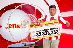 Un número le cambió todo a Juan que se ganó Gs. 33.333.333 con el #Progresivo en el sorteo del 24/01/16