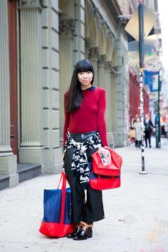 ストリートスナップニューヨーク - Susie Lauさん