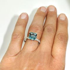 Looking for a stunning engagement or commitment ring with vivid colour and big carat weight? Imagine receiving this aquamarine and and diamond sparkler on Christmas Day or at midnight on New Years Eve? It would make for a very happy festive season. Available in store now please follow link  #engagement #engaged #yes #ido #alternative #engagementring #customengagementring #bespoke #newbrand #uniquebrand #uniquebrands #holidayshopping #sparkle #madeinsydney #quality #chifley #sydneylocal…