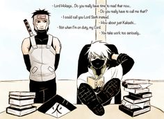 Kakashi as Hokage would be the laziest trash, to be honest. ;)