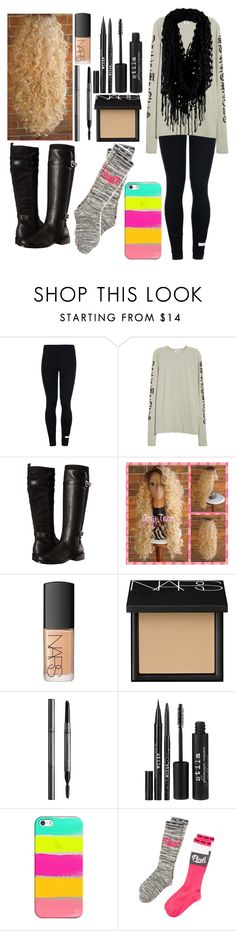 """When it's the first day of Spring, but going to snow"" by me-is-a-pizza ❤ liked on Polyvore featuring adidas, Vetements, Aerosoles, NARS Cosmetics, Burberry, Stila, Casetify and Victoria's Secret"