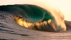 Emerald Wave by Russell Ord.