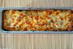 Σουφλέ ζυμαρικών με τυριά