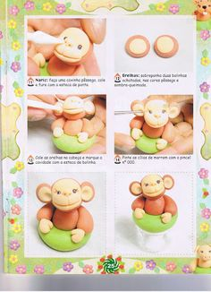 STEP BY STEP MONKEY PART N°3
