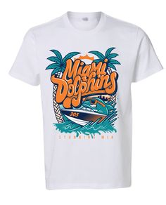 Miami Dolphins T-shirt by Stunning MIA Apparel f803fca52