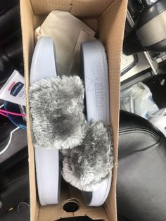 205ad7e888f NEW Puma Rihanna Fenty Fur Slides Pink Black Grey White Blue Green Bow  Pastel  fashion  clothing  shoes  accessories  womensshoes  sandals (ebay  link)