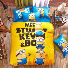 minions bedding sets