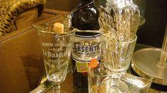 Absinthe spoon & glass