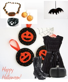 """""""happy halloween"""" by efzin on Polyvore"""