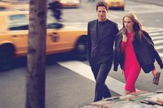 City Girl – Cara Delevingne is back once again for the fall 2013 campaign from DKNY and DKNY Jeans. In the advertisements, shot around various locations in New York City by Mikael Jansson, Cara is joined by male model Ollie Edwards and New York-based artist Curtis Kulig. Whether rocking a business casual suit or a …