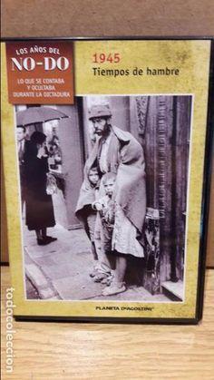 LOS AÑOS DEL NO-DO. 1945. TIEMPOS DE HAMBRE. DVD / PLANETA / LUJO