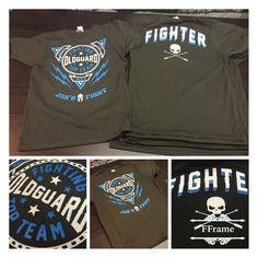 """Fighting Top Team """"Oldguard"""" tee 2015 Jok's Fight"""