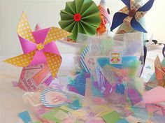 Pinwheel & Party Hat Tutorial by Party Pants for Flaired affairs