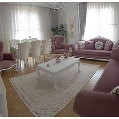 Living Room Decor On A Budget, Living Room Designs, Home Decor Furniture, Sweet Home, Shabby Chic, Bedroom Decor, House Design, Interior Design, Decoration