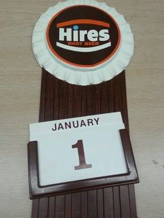 """Vintage advertising sign soda hires root beer calendar FOR SALE • $100.00 • See Photos! Money Back Guarantee. Vintage HIRES ROOT BEER CALENDAR probaly made in 1970 or 1980?.calendar are a kind of plastic also the months & days.perfect condition no crack 16 1/4"""" height x 6"""" on 201951140291"""