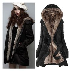 Long Black Parka Coat - Coat Nj