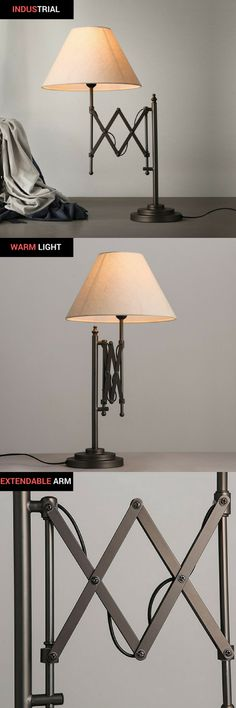 Lights & Lighting Tireless Simple Iron Nordic Designer Creative Table Lamp Creative Retro Loft American Style Lighting Office Home Bedroom Foyer Hotel Attractive Fashion