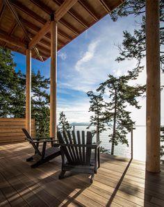 "georgianadesign: "" Orcas Island cabin. Johnston Architects, Seattle, WA. Adam Michael Waldo photo. """