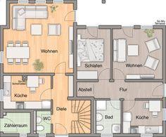 Einfamilienhaus mit kleiner einliegerwohnung grundriss  Grundriss EG | Häuser | Pinterest | Mehrgenerationenhaus ...