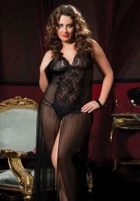 Moonlight Magic Plus Size Gown and Thong