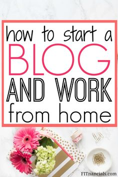 Find out how to create a blog and the basic logistics that go into it. Also find out how you can make money off of your blog. This is such a helpful list.