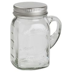 Small mason jar for spices
