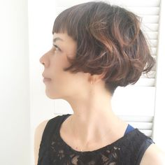 #pupa_style #担当者ジャハナ #ショートヘア #ショートボブ #刈り上げ女子 #ぱっつん #優しい #可愛い #笑顔 #hairstyle #hair #hairstyles #カット