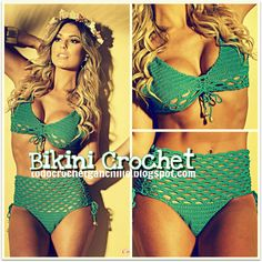 Bikini Crochet / Patrones | Todo crochet... Diagrams for crocheting!!