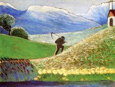 The Reaper-1910 by Marianne von Werefkin