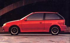 No 1 - Red Suzuki Swift