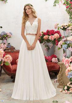 Morilee by Madeline Gardner Voyage 6856 A-Line Wedding Dress  Menyasszonyiruha Stílusok f569357f51