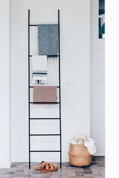 work_ a seaside home by edith macken photo by hannelore veelaert for au pays des merveilles ladder interior styling deco