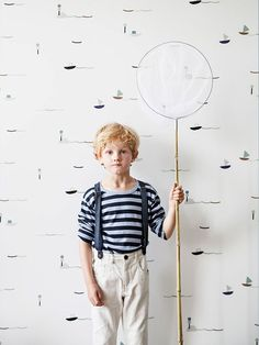 Dreaming Of the Sea | The Junior ☆ Nautical Kids Wallpaper