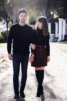 How to Celebrate the Holidays as a Couple, According to One Blogger via @WhoWhatWearUK