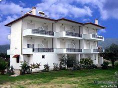 Vergina Apartmanház II. (#Sarti, #Sithonia, Észak-#Görögország) #greece #szállás #apartman #halkidiki Apartments, Mansions, House Styles, Home Decor, Decoration Home, Manor Houses, Room Decor, Villas, Mansion