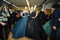 Fashion Backstage — Zac Posen Fall 2014 - NYFW