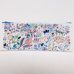 ちえちひろ / 春の花のペンケース | newpureplus http://newpureplus.theshop.jp/items/3113141 @npp_osaka