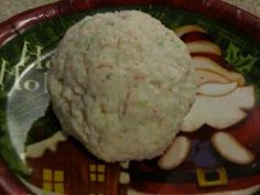 Crab Cheese Ball- try pouring a jar of Hoffman House brand shrimp/seafood sauce over cheese ball right before serving. Delicious!!!