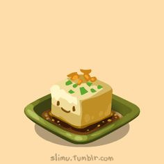 slimu slimu, Japanese Food Party :D Sushi Drawing, Food Drawing, Mini Things, All Things Cute, Tofu Sushi, Cute Donuts, Food Cartoon, Kawaii Illustration, Kawaii Drawings